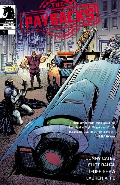The Paybacks #1 – 4 (2015)
