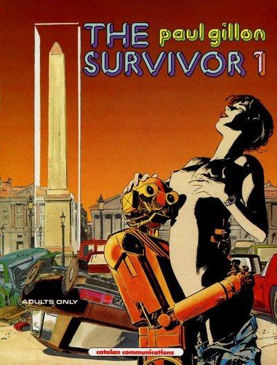 The Survivor #1 – 4 (Adult Comics) (1990-1991)