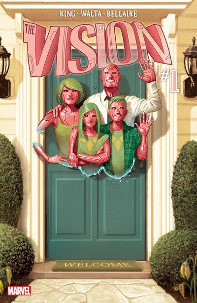 Vision Vol. 2 #1 – 12 + TPBs (2016+2018)