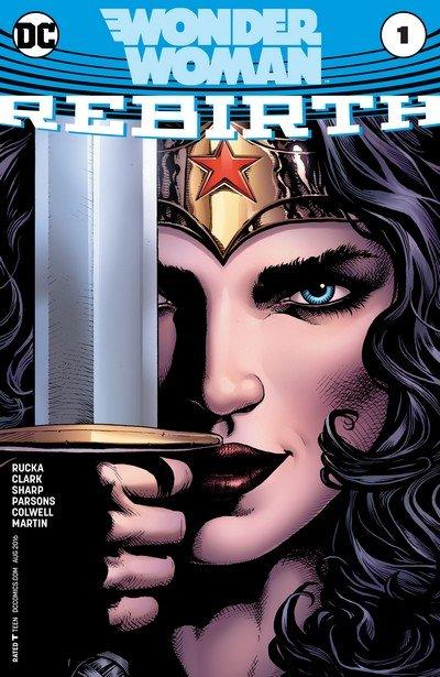 Wonder Woman – Rebirth #1 + 1 – 73 + Annuals (2016-2019)