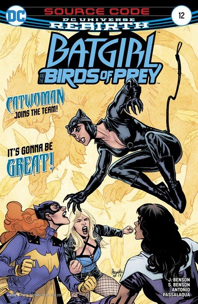 Batgirl and the Birds of Prey #12 (2017)