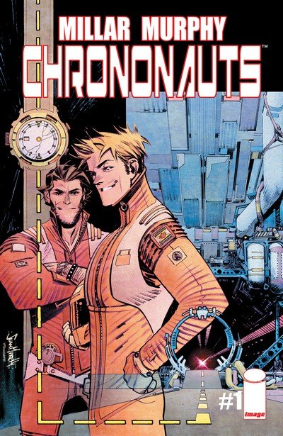 Chrononauts #1 – 4 + TPB (2015)