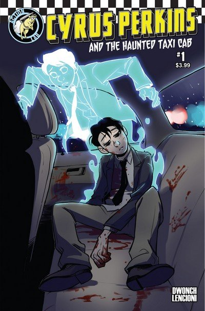 Cyrus Perkins and the Haunted Taxi Cab #1 – 4 + TPB (2015-2016)