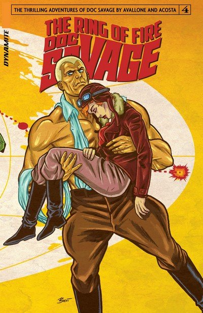 Doc Savage – The Ring of Fire #1 – 4 + TPB (2017)