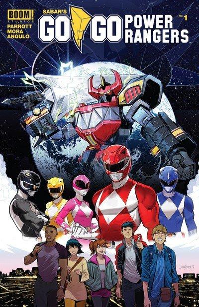 Go Go Power Rangers #1 – 19 + TPB (2017-2019)