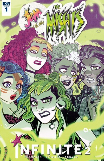 Jem and the Holograms – The Misfits – Infinite #1 (2017)