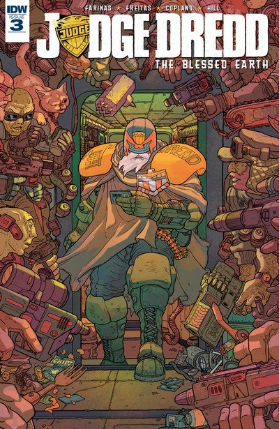 Judge Dredd – The Blessed Earth #3 (2017)