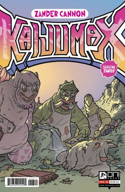 Kaijumax – Season Three #1 (2017)