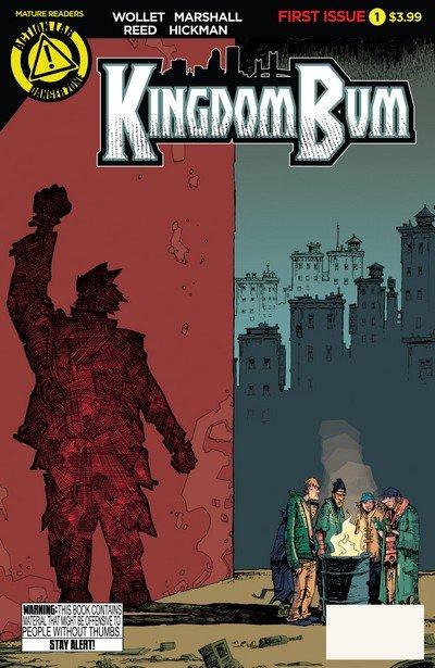 Kingdom Bum #1 – 4 (2015-2016)