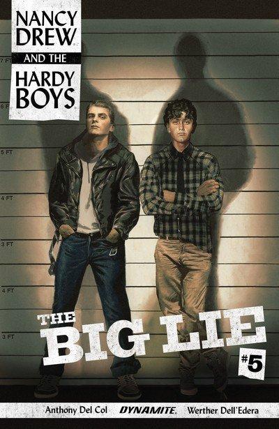 Nancy Drew and the Hardy Boys – The Big Lie #5 (2017)