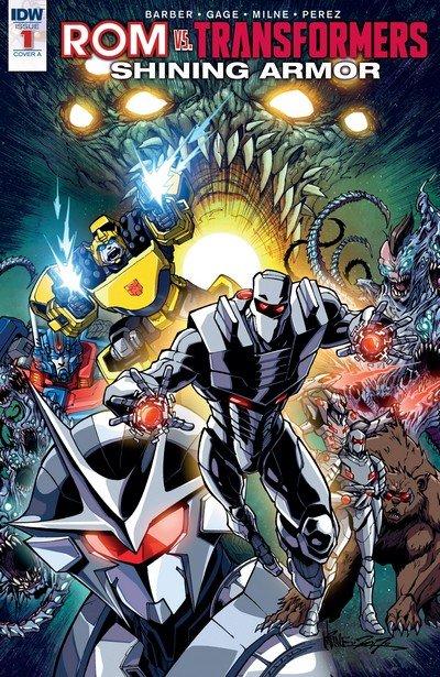 ROM vs Transformers – Shining Armor #1 (2017)