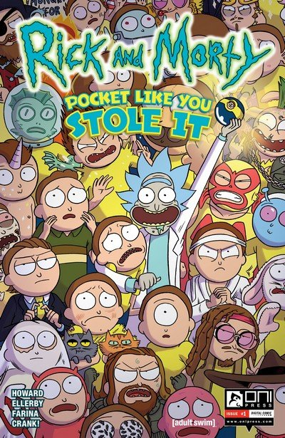 Rick and Morty – Pocket Like You Stole It #1 (2017)