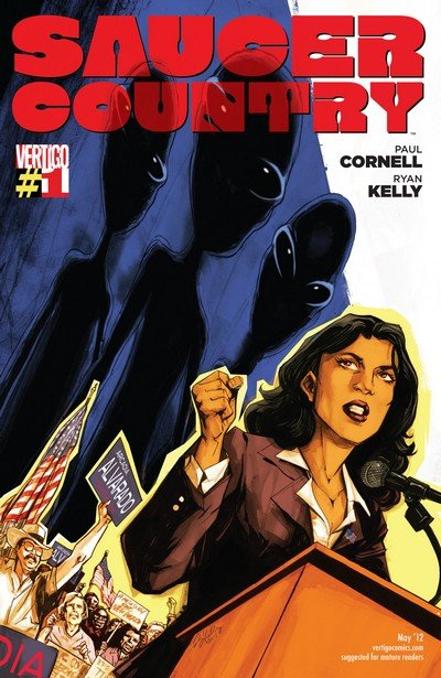 Saucer Country #1 – 14 (2012-2013)