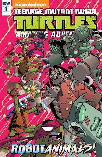 Teenage Mutant Ninja Turtles Amazing Adventures – Robotanimal #1 (2017)