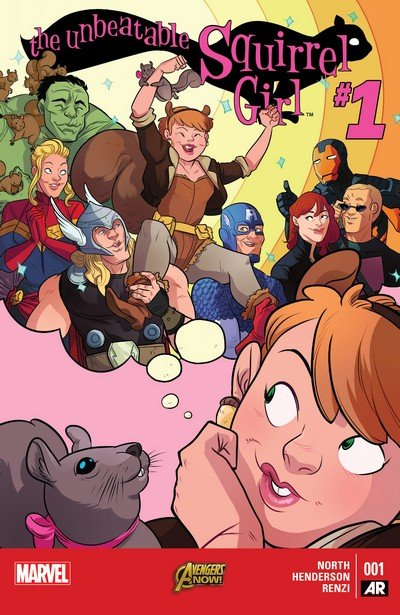 The Unbeatable Squirrel Girl Vol. 1 #1 – 8 (2015)
