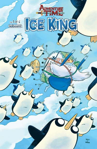 Adventure Time – Ice King #1 – 6 + TPB (2016)