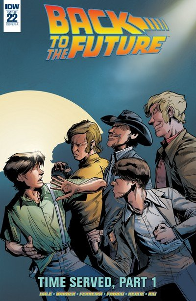 Back to the Future #22 (2017)