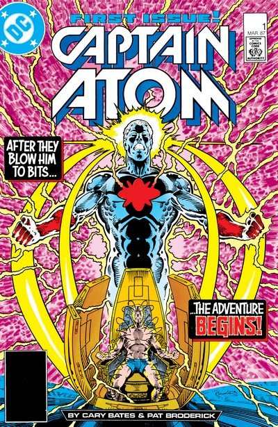 Captain Atom Vol. 1 – 4 + Extras (Collection) (1965-2017)