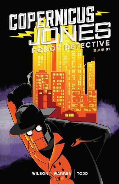 Copernicus Jones – Robot Detective #1 – 8 (2014-2017)
