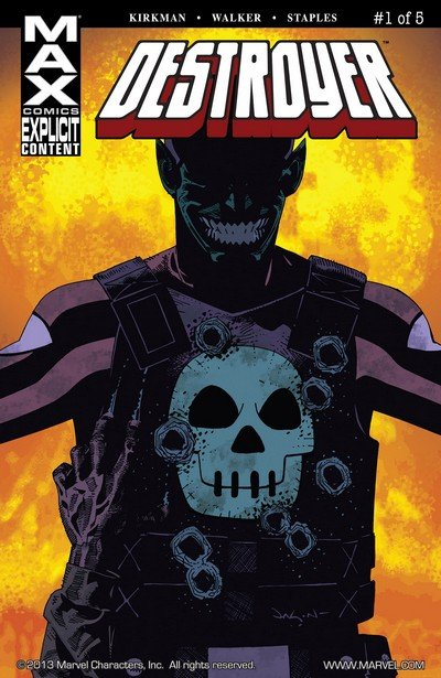 Destroyer #1 – 5 (2009)