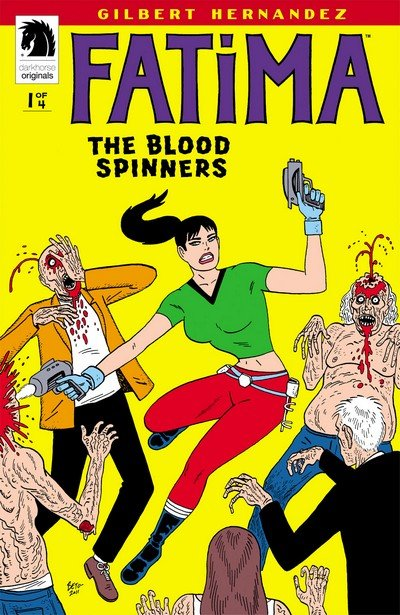 Fatima – The Blood Spinners #1 – 4 (2012)