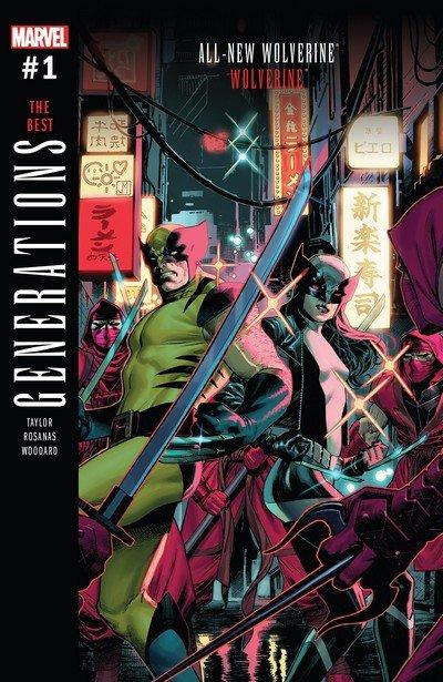 Generations – Wolverine & All-New Wolverine #1 (2017)