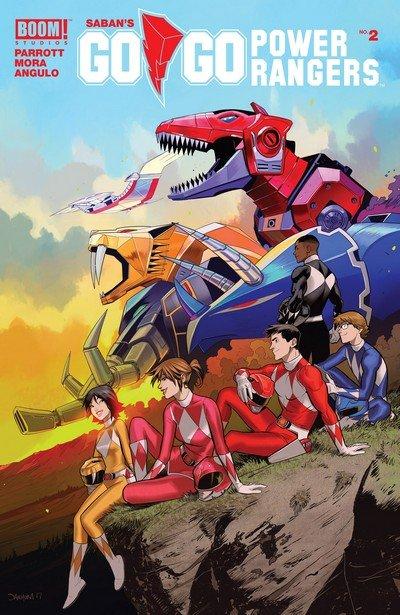 Go Go Power Rangers #2 (2017)