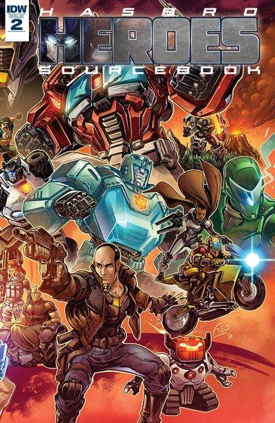 Hasbro Heroes Sourcebook #2 (2017)