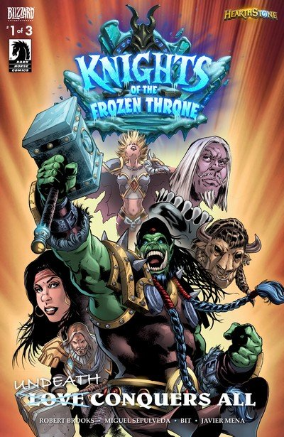 Hearthstone – Knights of the Frozen Throne #1 – 3 (2017)
