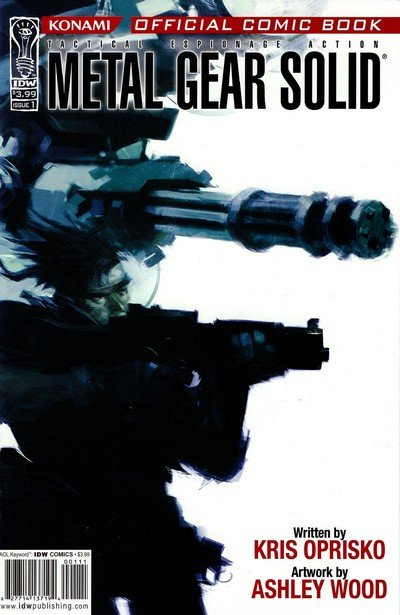 Metal Gear Solid #1 – 12 (2004-2005)