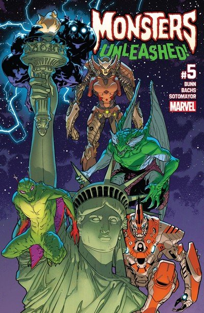 Monsters Unleashed Vol. 2 #5 (2017)