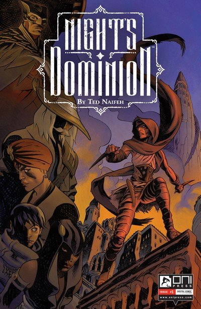 Night's Dominion #1 – 6 (2016-2017)