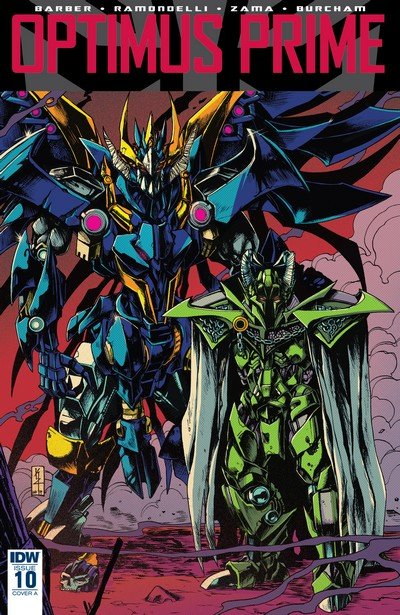 Optimus Prime #10 (2017)