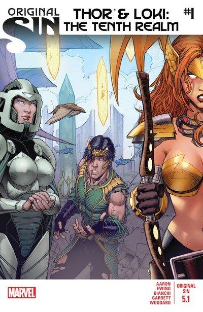 Original Sin – Thor & Loki #1 – 5 (2014)