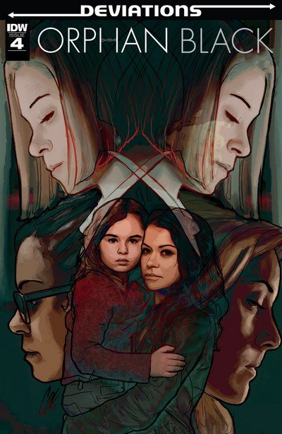 Orphan Black – Deviations #4 (2017)
