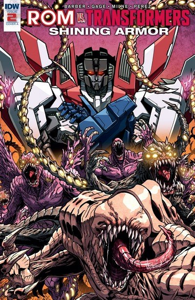 ROM vs Transformers – Shining Armor #2 (2017)
