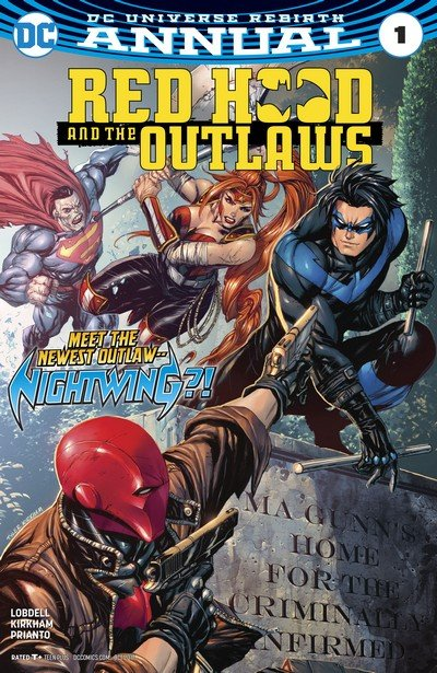 Red Hood and the Outlaws Annual #1 (2017)