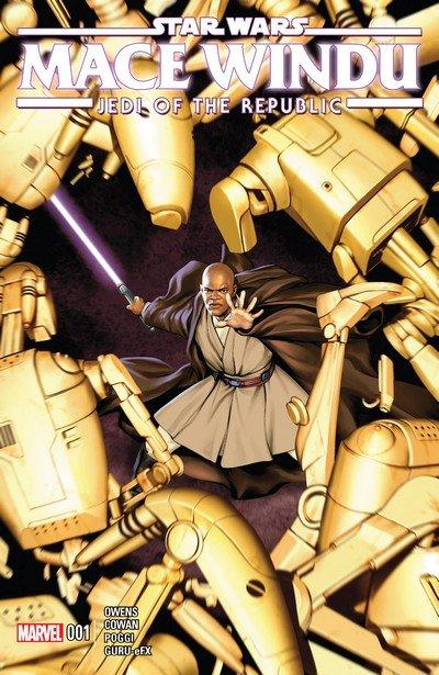 Star Wars – Jedi of the Republic – Mace Windu #1 (2017)