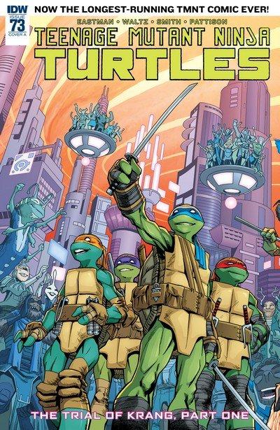 Teenage Mutant Ninja Turtles #73 (2017)