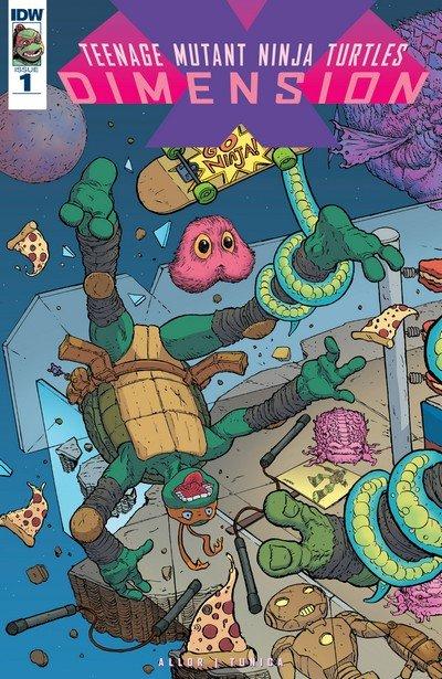 Teenage Mutant Ninja Turtles – Dimension X #1 (2017)