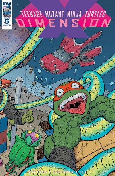 Teenage Mutant Ninja Turtles – Dimension X #5 (2017)