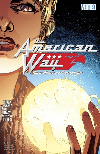 The American Way – Those Above and Those Below #2 (2017)