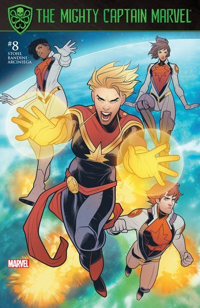 The Mighty Captain Marvel #8 (2017)