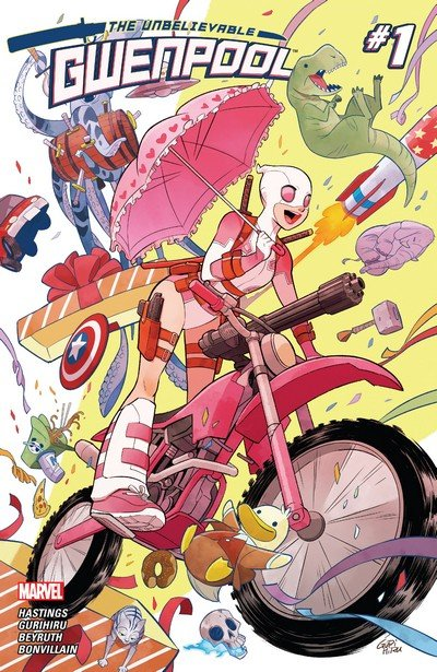 The Unbelievable Gwenpool #0 – 25 + TPBs+ Specials (2016-2017)