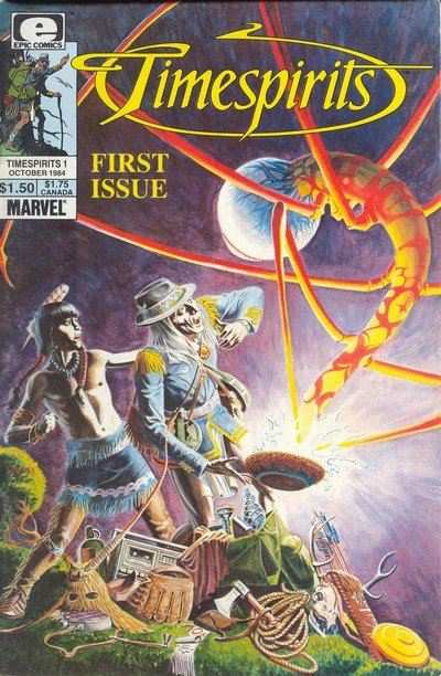 Timespirits Vol. 1 #1 – 8 (1984-1986)