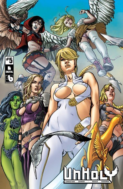 Unholy #5 (2017) (ADULT)