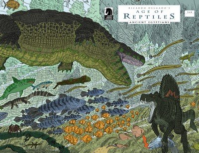 Age of Reptiles – Ancient Egyptians #1 – 4 + TPB (2015-2016)