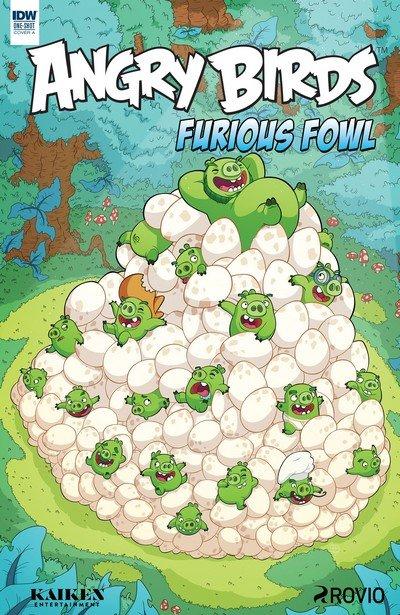 Angry Birds Comics Quarterly – Furious Fowl (2017)