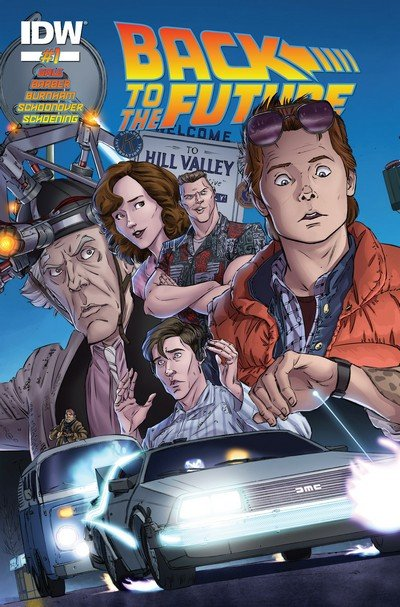 Back to the Future #1 – 22 + TPB Vol. 1 – 2 (2015-2017)