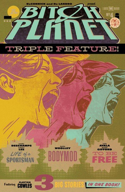 Bitch Planet – Triple Feature #4 (2017)